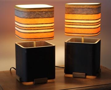Piétement profilé métallique 15 X 15 cm - épaisseur 8 mm
