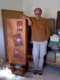 Luminaire Monolithe H=160 cm